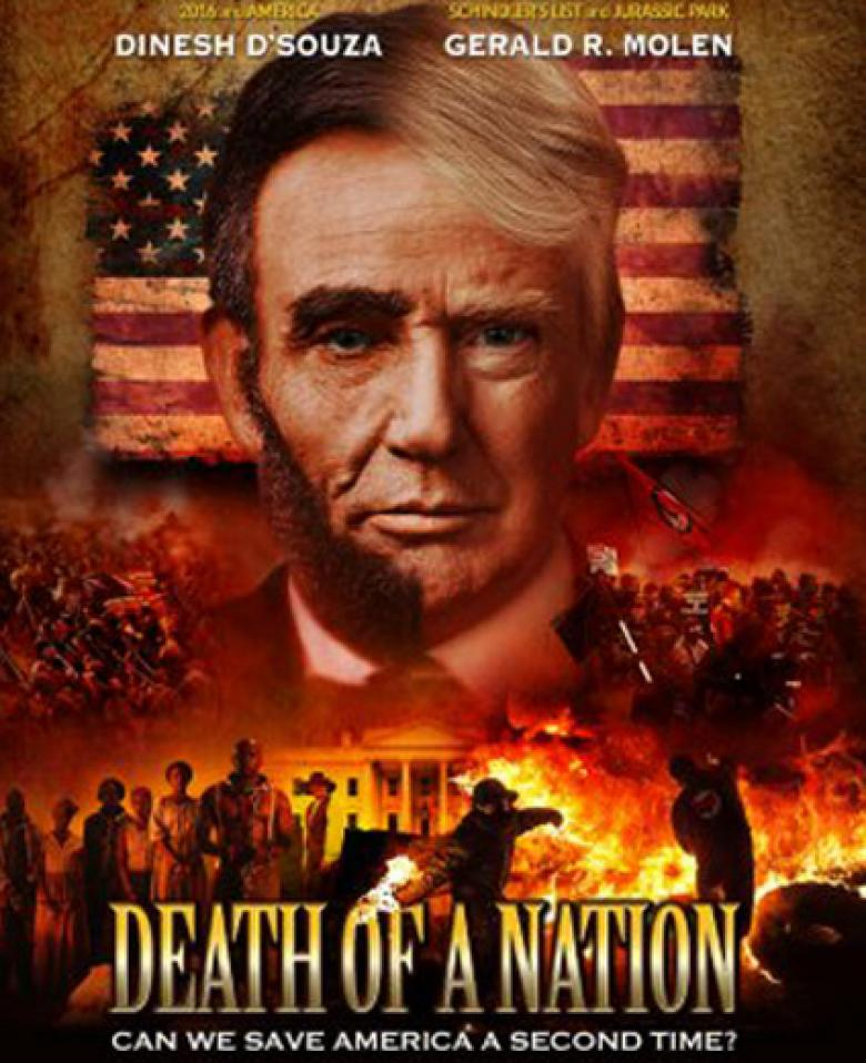 Dinesh D'Souza New Talkie Will Compare Trump To Abraham Lincoln