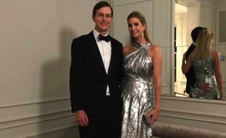 The Jarvanka Family Motto:  'Grifters Gotta Grift'