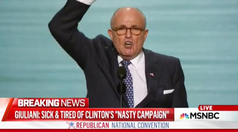 Rudy Giuliani Says Trump May Use 'Presidential Pardons' To Clean Up Mueller Investigations