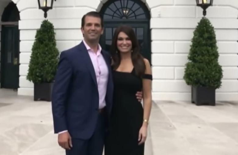 Kimberly Guilfoyle Poses With Pizzagate Conspiracy Theorist Flashing White Nationalist Sign