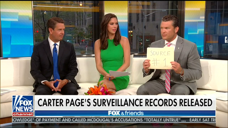 Fox Uses Newly Released FISA Warrants To Continue To Undermine Mueller Investigation