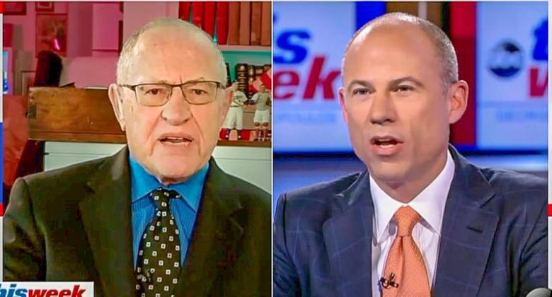 Michael Avenatti Crushes Alan Dershowitz For Poor 'Accuracy Rate' On Defending Trump