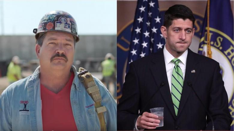 Ryan Tries To Undermine Randy 'Ironstache' Bryce's Campaign
