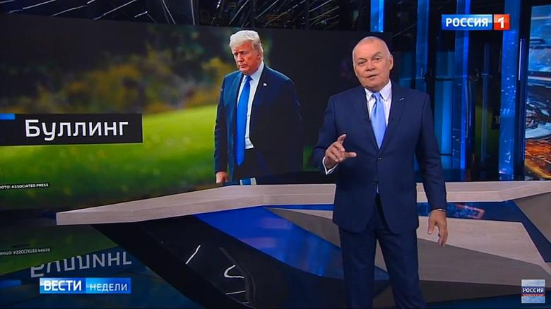 Russian State TV Defends Trump's Private Parts: 'Stormy's Expectations Are Unreasonably High'