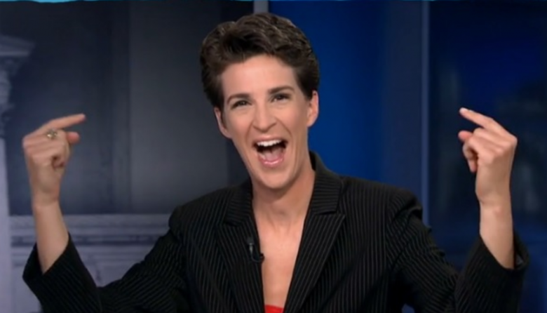 Rachel Maddow Was Number One On ALL Of Cable Friday