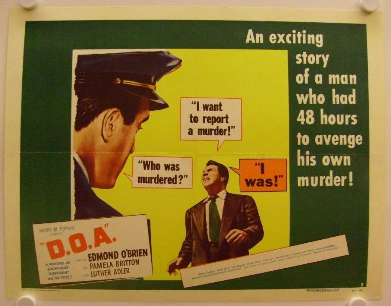 C&L's Sat Nite Chiller Theater:  D.O.A.  (1949)