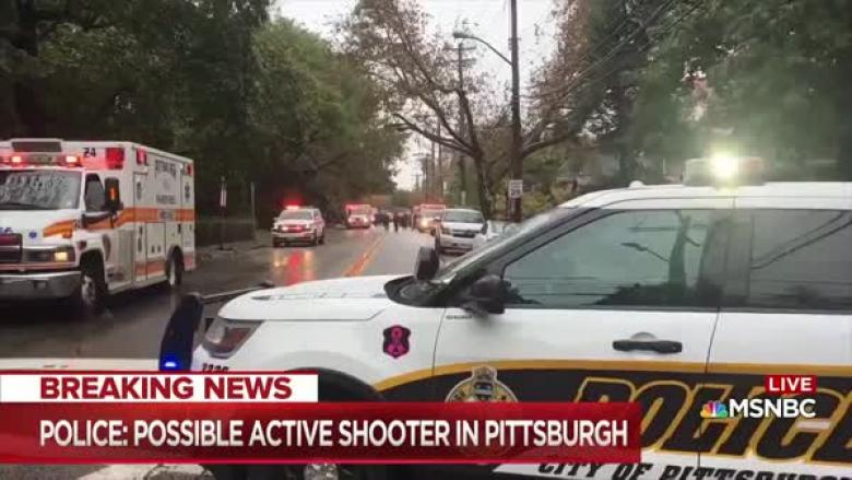 UPDATED: Shooter At Synagogue In Pittsburgh Is Rob Bowers, At Least 11 Dead, No Children Shot
