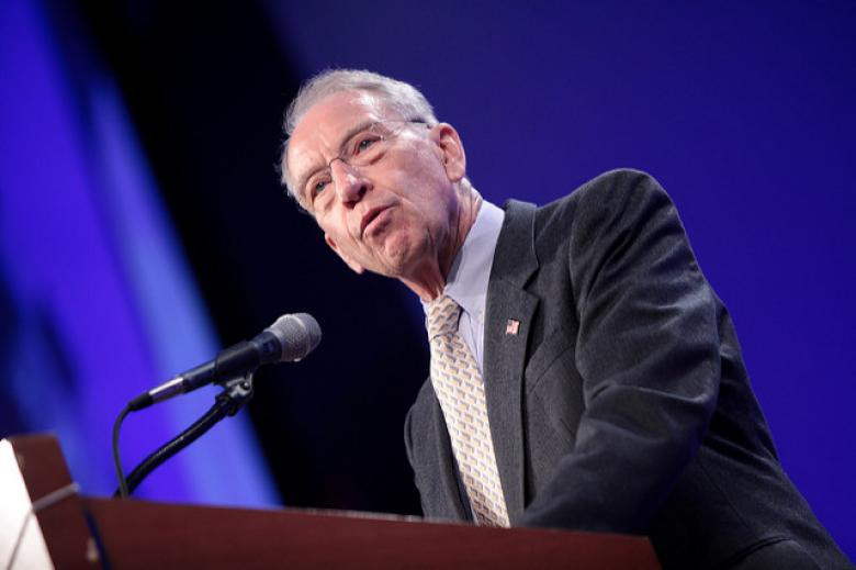 Senile Chuck Grassley Comes To Trump's Aid - With His Facts Wrong Again