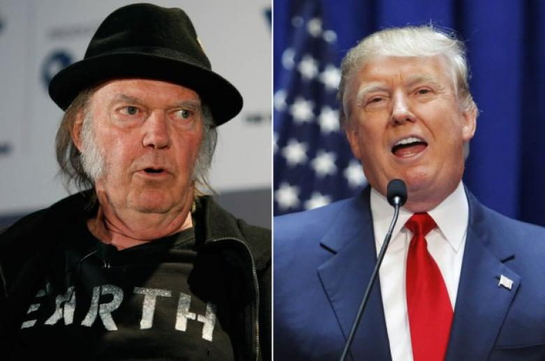 Neil Young Blasts Trump After He Loses Home To Wildfire