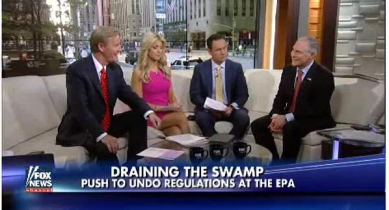 Fox News Scripted Scott Pruitt And That's Probably The Tip Of The Iceberg