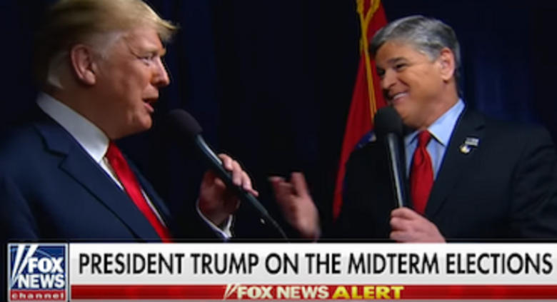 Trump 'Repeatedly' Mocks Hannity's 'Dumb' Softball Questions