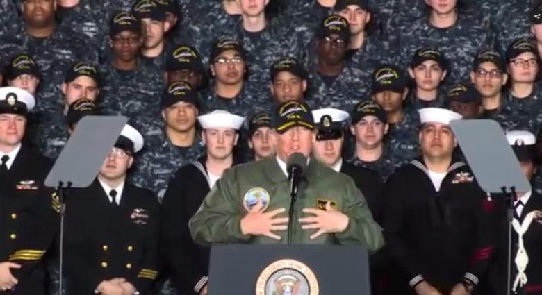 A Dishonorable Discharge For Commander-in-Chief Donald Trump