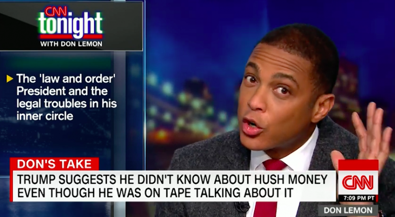 Don Lemon Slams Trump's Criminal Associations: 'So Much For The Law And Order President'