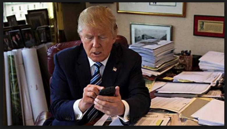 Trump Tweets There's No 'Smocking' Gun' To Attack Democrats