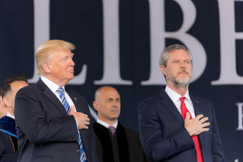Jerry Falwell, Jr. Slaps Around Poor People: 'A Poor Person Never Gave Anyone A Job'