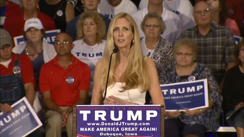 Group Wants Ann Coulter To Primary Trump