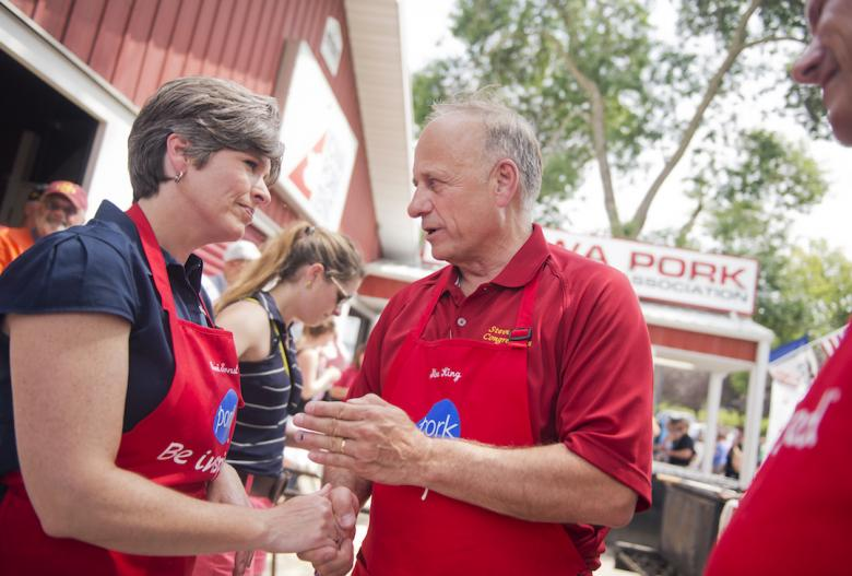Joni Ernst Calls Steve King's Remarks 'Offensive And Racist'