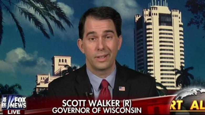 Unemployed Scott Walker's Absurd Attack On Elizabeth Warren