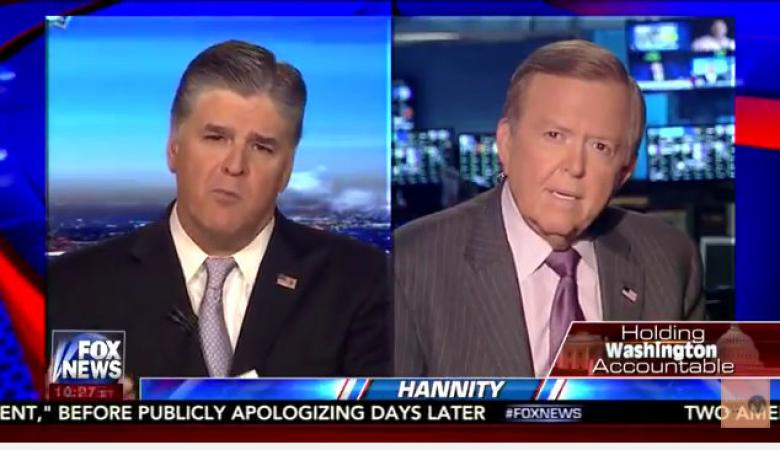 Trump Crawled To Hannity And Lou Dobbs To Help Him On Spending Deal