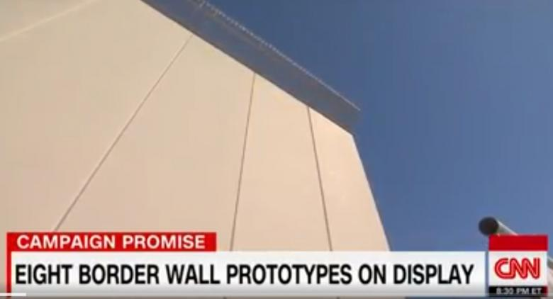 WATCH: Those Trump Wall Prototypes Get Demolished