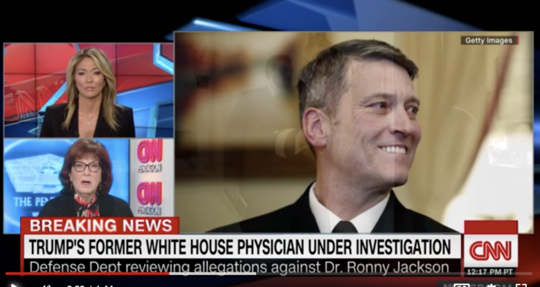 Dr. Ronny Jackson Is Back As Trump's Assistant And Medical Advisor - Just In Time For His Yearly Exam!