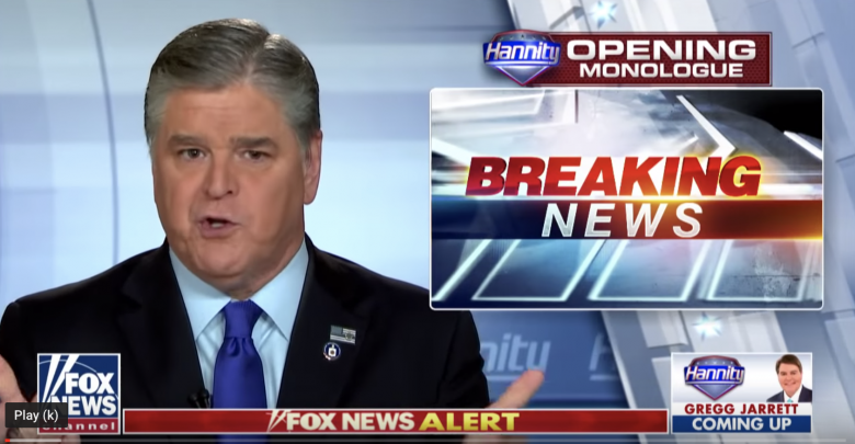 Hannity May Leave Fox In 2021 – And He's Convinced Fox Will Fall Apart Without Him