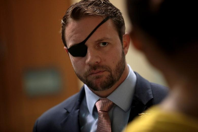 Rep. Dan Crenshaw Blows Off 9/11 Firefighter, But Blasts Rep. Omar
