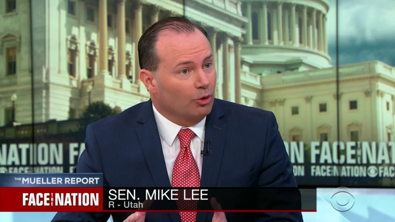Utah GOP Senator Says He's 'Confused' By The 'Tone' Of The Mueller Report On Obstruction