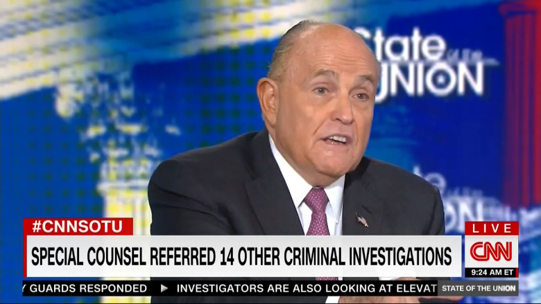 Rudy Giuliani Accuses Mueller Team Of 'Torturing' Paul Manafort To 'Get Information'