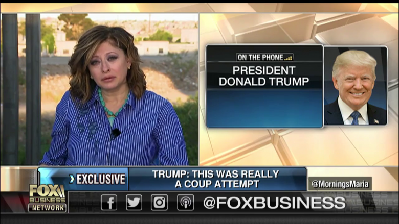 Fox's Bartiromo Couldn't Get Trump Off The Phone
