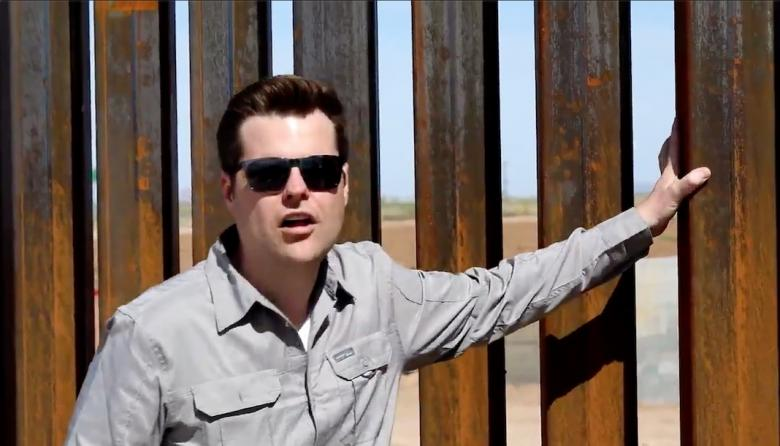 Matt Gaetz Busted For Lying: Not 'At The Border,' Not Trump's Wall