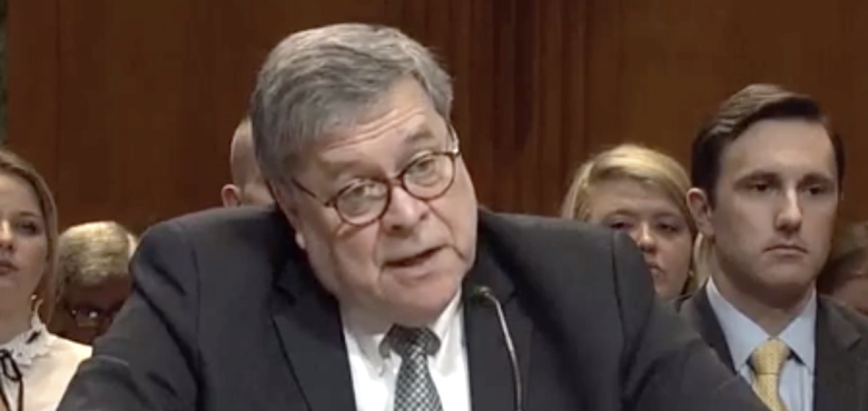 Jokester Bill Barr Asks Nancy Pelosi If She Brought Her Handcuffs