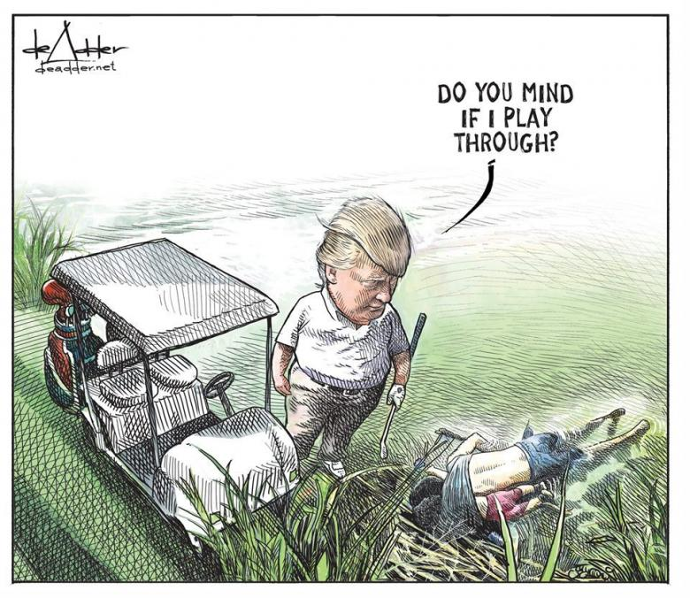 Canadian Cartoonist Fired After His Trump Cartoon Goes Viral UPDATED