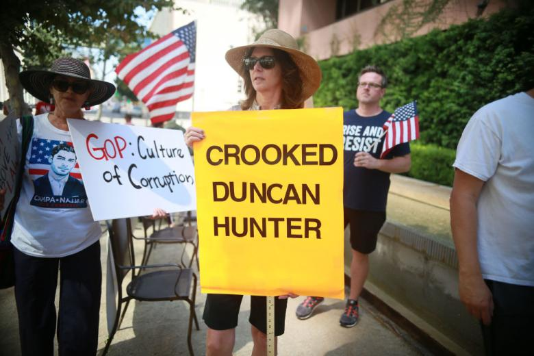 Duncan Hunter's Wife Flips Plea In Campaign Fund Fraud Case