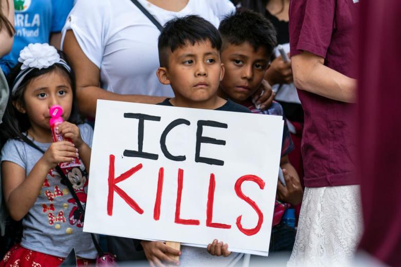 Donald Loves The Children - Except Migrant Children