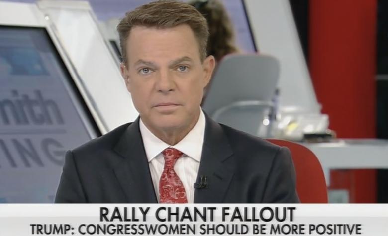 Shep Smith Fact-Checks Trump's Lies About Rally Chant