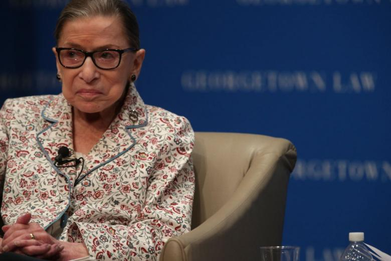 Justice Ruth Bader Ginsburg Treated For Cancerous Tumor On Her Pancreas