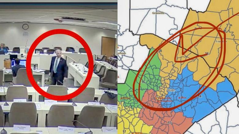 CAUGHT: NC Senator Retires After He's Caught Gerrymandering His District