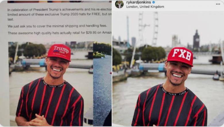 Pro-Trump Marketer Photoshops Black Guy To Sell MAGA Hats