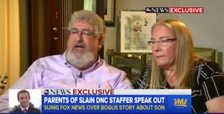 Appeals Court Reinstates Seth Rich Family's Lawsuit Against Fox News