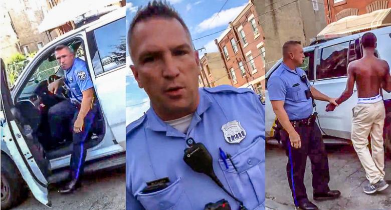 WATCH: Kids Confront Philly Cops As They Terrorize Innocent Black Student At Bus Stop