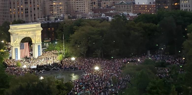 Elizabeth Warren Draws Largest Crowd So Far