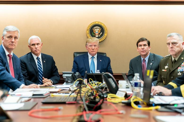 Did The White House Stage Situation Room Baghdadi Raid Photo?