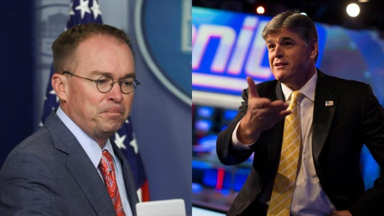 Sean Hannity Freaks Out Over 'Idiotic' Mulvaney Presser
