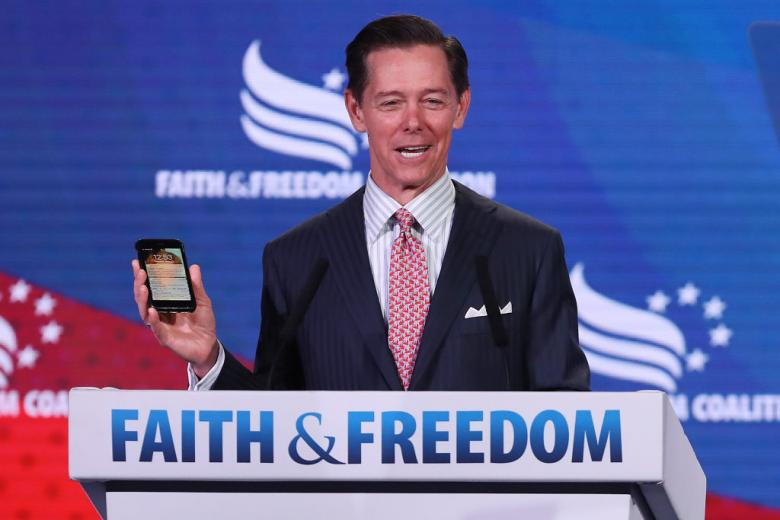 Ralph Reed's New Book Demands 'Christians' Support Trump
