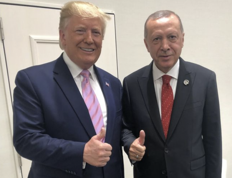 Trump Tweets About An 'Ultimate Solution' To Kurds After Chat With Erdoğan
