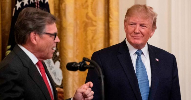 'Most Implausible Alibi I've Ever Heard': Trump Ridiculed For Blaming Rick Perry For Ukraine Call