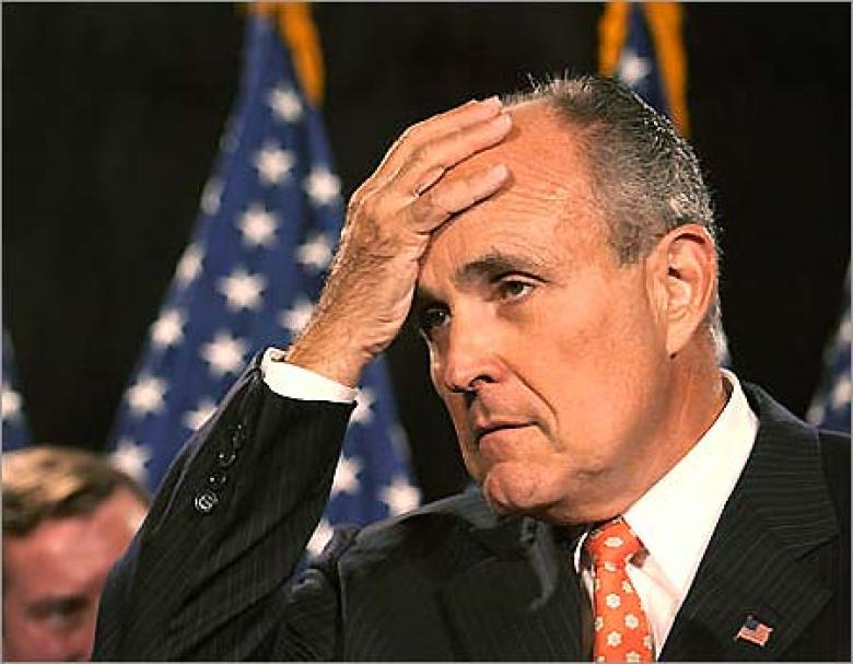 Rudy Giuliani Is In Big BIG Trouble