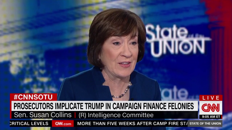 Collins Says 'Both Sides' Are The Problem In Fair Senate Impeachment Trial, Still Mum On Trump Bribe