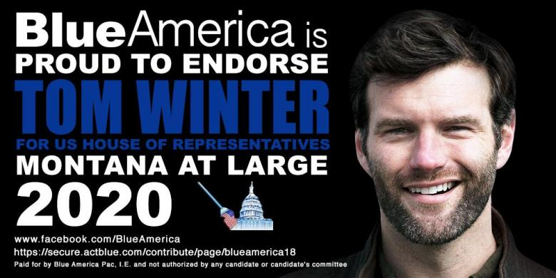 Montana's Open Congressional Seat Is Ready For Progressive Dem Tom Winter